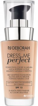 Тональная основа Deborah Dress me Perfect SPF 15 № 01 30 мл (8009518230079)