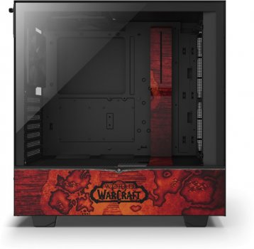 Корпус NZXT H510 World of Warcraft - Horde Limited Edition (CA-H510B-WH)