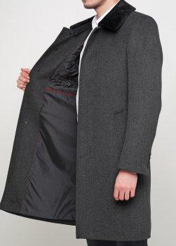 Чоловіче пальто Mia-Style DIP-1 сірий