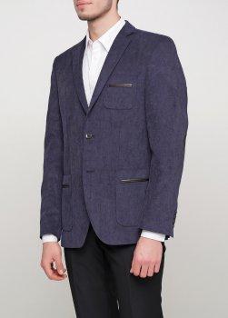 Чоловічий піджак Mia-Style MIA-283/09 темно-синій