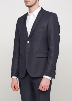 Чоловічий костюм Mia-Style MIA-178/05-чорний