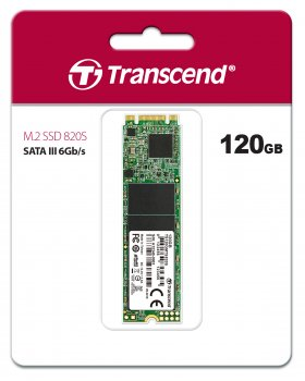 Transcend MTS820S 120GB M.2 2280 SATAIII 3D TLC (TS120GMTS820S)