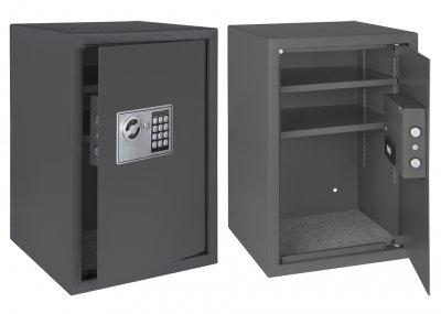 Сейф Kesser NR50 стальной мебельный для офиса и дома Черный