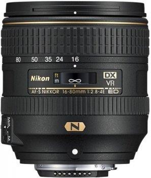 Nikon AF-S DX Nikkor 16-80 mm f/2.8-4E ED VR (JAA825DA) Офіційна гарантія!