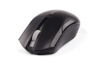 Миша A4 Tech G3-200NS (Black) безпровідна Silent Clicks V-Track USB, 1000dpi