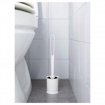 Щетка для унитаза IKEA TACKAN белый 403.243.14