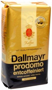 Кофе без кофеина Dallmayr Prodomo в зернах 500 г