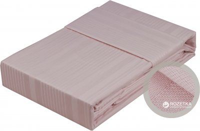 Комплект постільної білизни Hobby Exclusive Sateen Diamond Stripe 160x220x2 (8698499128859)