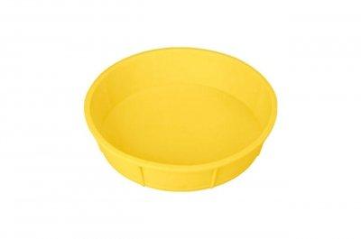 Форма для випічки Empire 240х50мм Пиріг круглий Силікон Жовтий (9814) 000062004db2b