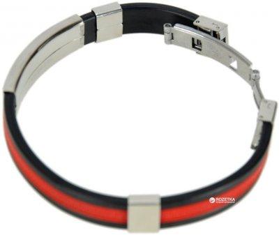 Браслет TRAUM 4227-86 Черный с красным (4820004227861)