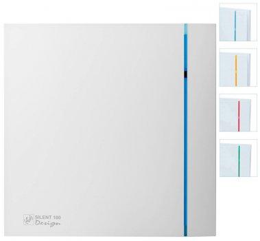 Вытяжной вентилятор SOLER&PALAU SILENT-100 CRZ DESIGN 3C с таймером