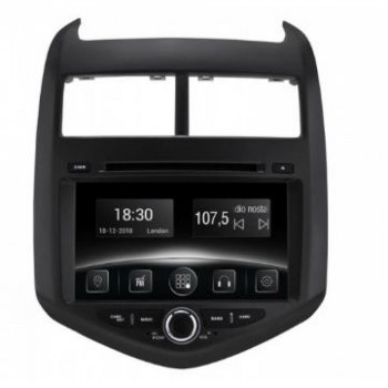 Штатная магнитола Gazer CM5008-T300 Chevrolet Aveo 2011-2016 (27457)