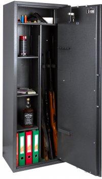 Сейф збройовий SAFETRONICS MAXI 5PE/К3