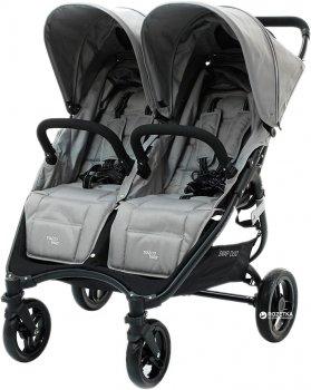 Прогулянкова коляска для двійні Valco Baby Snap Duo Cool Grey (9887)