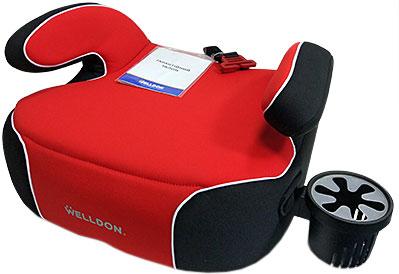 Автокрісло Welldon Penguin Pad Червоний/чорний (PG08-P02-003) (4820212900136)
