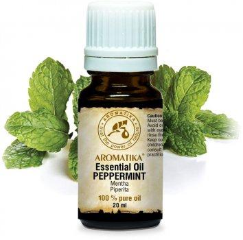 Эфирное масло мяты перечной Ароматика Pure Peppermint Essential Oil 20 мл (4820177023109)