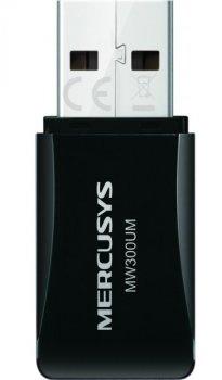Безпровідний мережевий адаптер Mercusys MW300UM USB (300Mbps Wireless N USB Adapter)