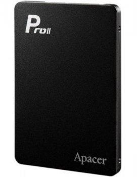 "Твердотільний диск SSD 2.5"" 256GB Apacer AS510S Pro || MLC, SATA 3, Sequential Read/Write 530/410 MB/sec 7mm"