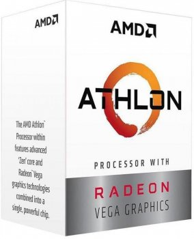Процессор s-AM4 AMD Athlon 200GE BOX (YD200GC6FBBOX)