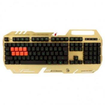 Клавіатура A4-Tech Bloody B2418 USB Gold
