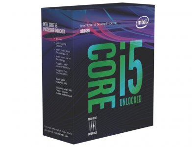 Процесор s-1151 Intel Core i5-8600K 3.6 GHz/9Mb BOX (BX80684I58600K)