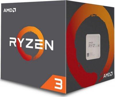 Процесор s-AM4 AMD Ryzen 3 1300X BOX (YD130XBBAEBOX)