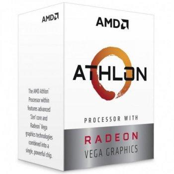 Процессор s-AM4 AMD Athlon 240GE BOX (YD240GC6FBBOX)