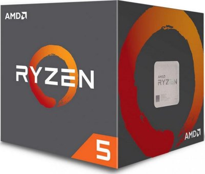 Процесор s-AM4 AMD Ryzen 5 1600 BOX (YD1600BBAFBOX)