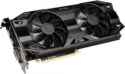 EVGA PCI-Ex GeForce RTX 2060 SC Ultra Black Gaming 6GB GDDR6 (192bit) (1680/14000) (DisplayPort, HDMI, DVI-D) (06G-P4-2065-KR)