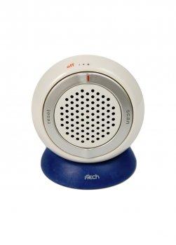 Портативний міні радіоприймач I-tech 6х7х4см Білий H2-440234