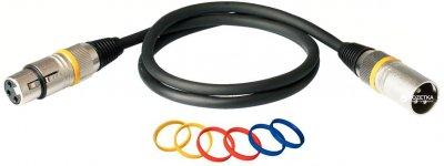 Мікрофонний кабель RockCable RCL30353 D7 3 м Black (RCL30353 D7)