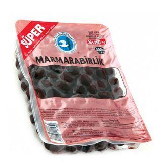Маслины вяленые Marmarabirlik черные SUPER 500 г (ol11)