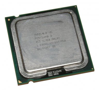 Процессор S775 Intel Pentium D 915 2x2.8 GHz Б/У