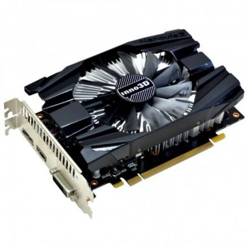 Відеокарта PCI-E 6Gb GeForce GTX1060 (DDR5) Inno3D Compact (N1060-6DDN-N5GM)