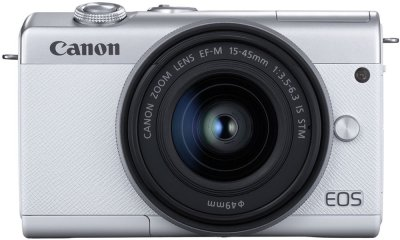Фотоаппарат Canon EOS M200 15-45mm IS STM Kit White (3700C032)