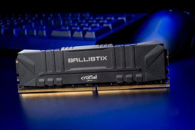 Оперативна пам'ять Crucial DDR4-3600 16384MB PC4-28800 (Kit of 2x8192) Ballistix Black (BL2K8G36C16U4BL)
