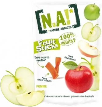 Фруктові стики Nature Innovation Яблуко 35 г (3609200003094)