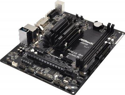 Материнская плата ASRock J4005M (Intel Celeron J4005, SoC, PCI-Ex16)