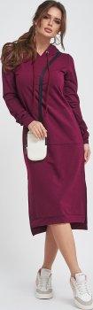 Платье ISSA PLUS 11409 Бордовое