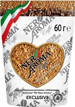 Кофе растворимый Nero Aroma Exclusive 60 г (4820093481304)