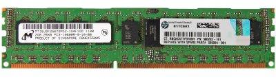 Оперативна пам'ять HP DDR3-RAM 2GB PC3-10600R ECC 2R (593907-B21) Refurbished