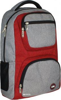Рюкзак молодіжний Cool For School 44 x 30 x 17 см 22 л Унісекс Сіро-червоний (CF86348)