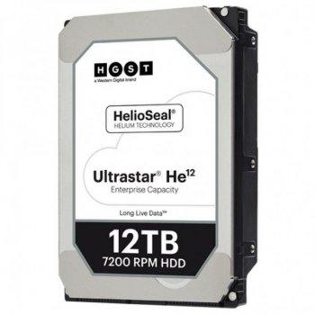 """Жорсткий диск 3.5"""" SATA 12TB Hitachi HGST Ultrastar He12 (0F30146 / HUH721212ALE604)"""