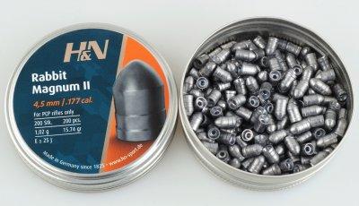 Свинцовые пули H&N Rabbit Magnum II (1.02г, 200 шт)