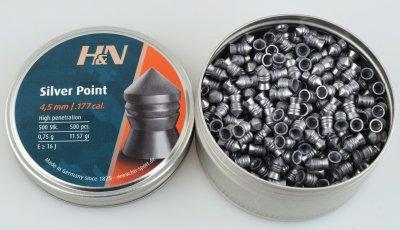 Свинцовые пули H&N Silver Point (0.75г, 500 шт)