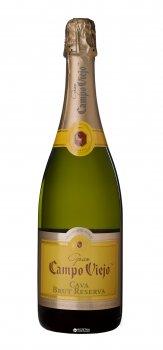 Вино игристое Campo Viejo Cava Brut Reserva белое сухое 0.75 л 11.5%