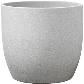 Кашпо Soendgen Keramik Basel Stone 19 х 18 см Світло-сірий камінь (0069-0019-2256)