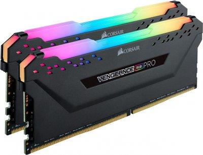 Оперативна пам'ять Corsair 16GB 4000MHz Vengeance RGB PRO CL19 (2x8GB) (CMW16GX4M2K4000C19)