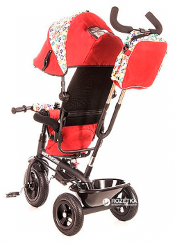 Велосипед трехколесный KidzMotion Tobi Venture Red (5906395302215) (115002/red)
