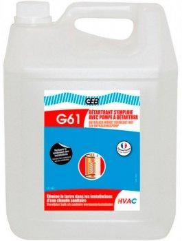 Рідина для видалення накипу GEB G61 S'emploie Avec Pompe 10 л